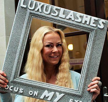LUXUSLASHES®, Fashionweek Berlin, Wimpernverlängerung LUXUSLASHES®, Fashionweek Berlin, Wimpernverlängerung