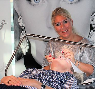 Luxuslashes, Fashionweek, Wimpern, Beautylounge,